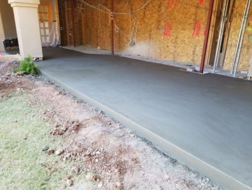 Concrete repair job completed in Mesquite, TX