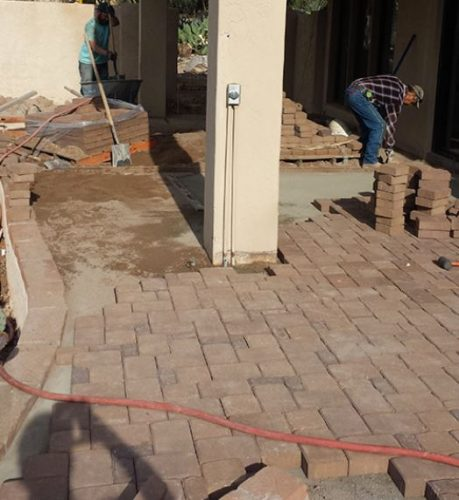 Concrete patio contractors in Mesquite, TX