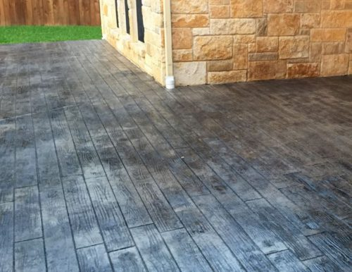 Concrete patio estimate in Mesquite, TX