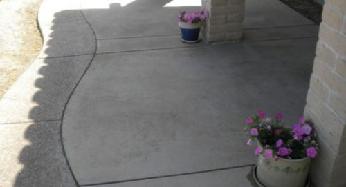 Stamped concrete patterns in Mesquite, TX